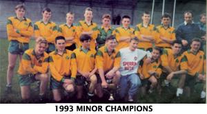 1993 Minor Champions