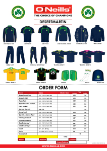 Club Gear 2014 Range