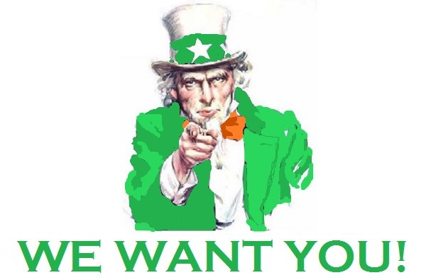 Image result for leprechaun we want you